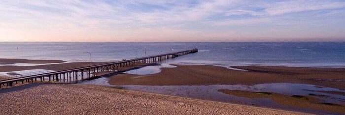 Altona Beach is Melbourne's western suburbs largest and most pristine swimming and recreational beach.